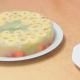 pastel de gelatina de frutas