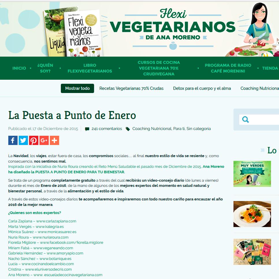 flexivegetarianos.com puesta a punto de enero