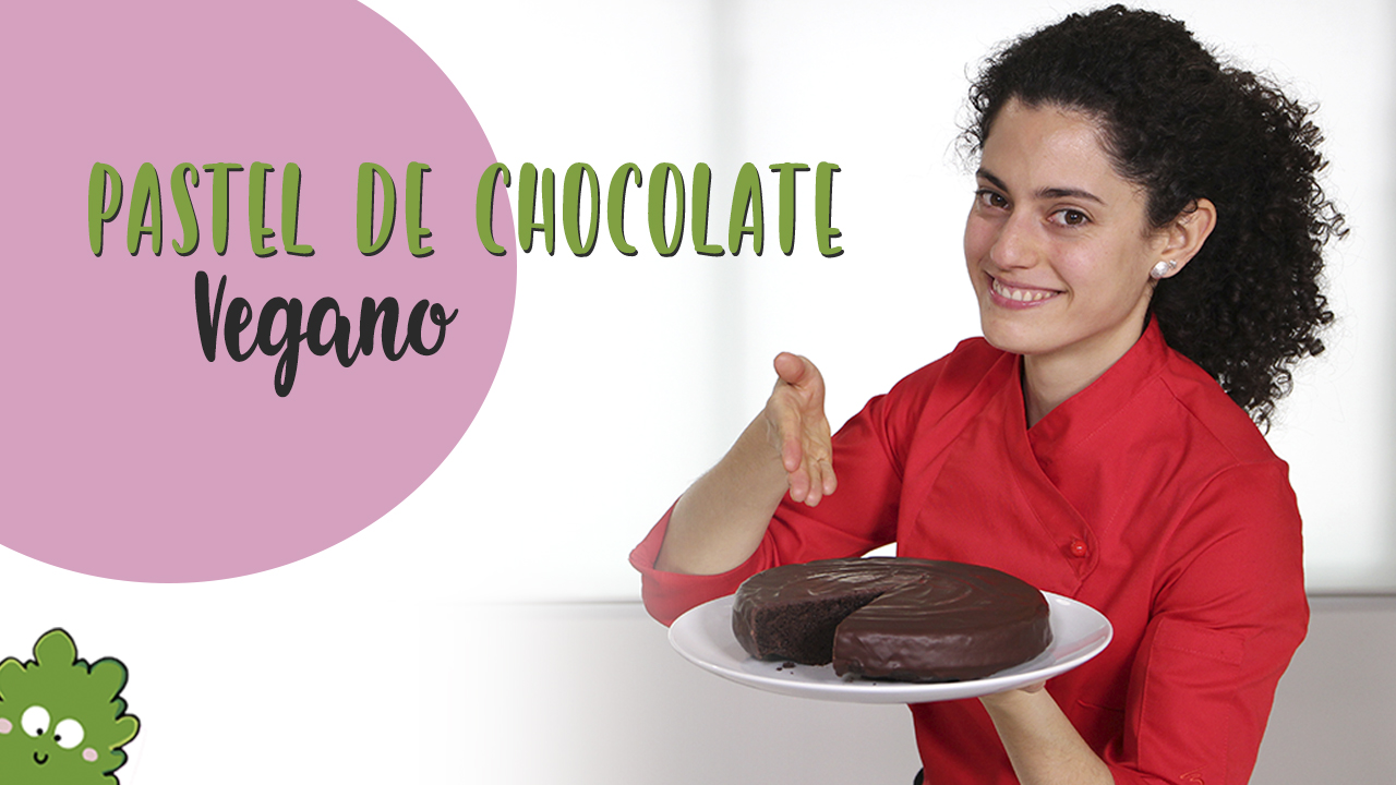 Pastel chocolate vegano