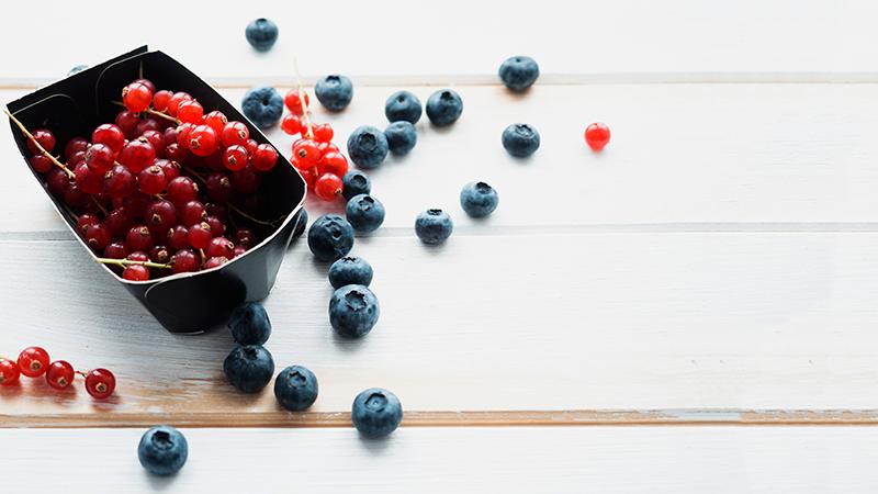 Frutos rojos - Veganeando