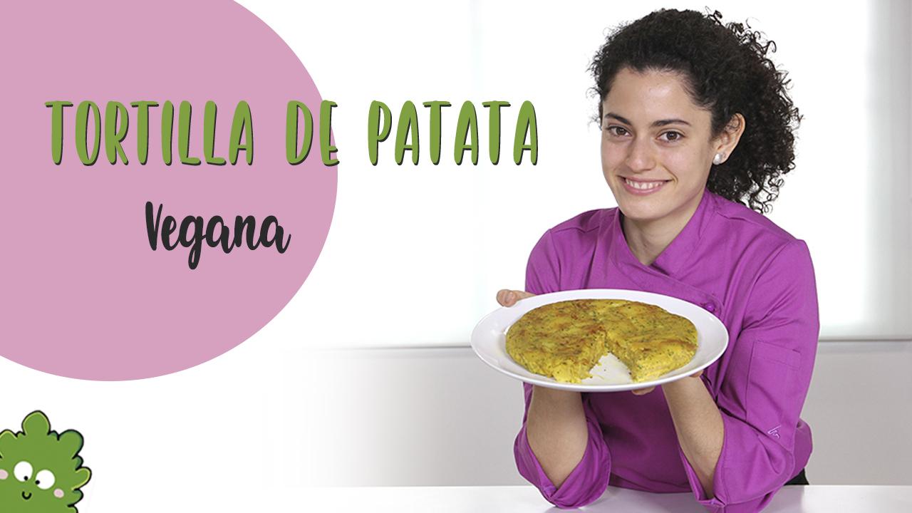 Tortilla patatas vegana