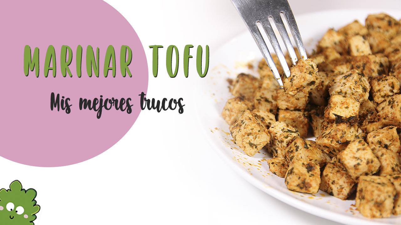 como marinar tofu