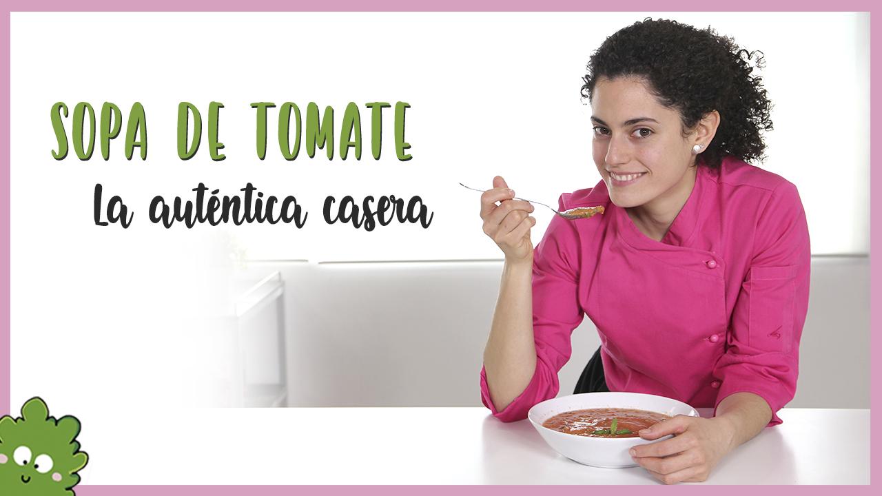 sopa tomate albahaca