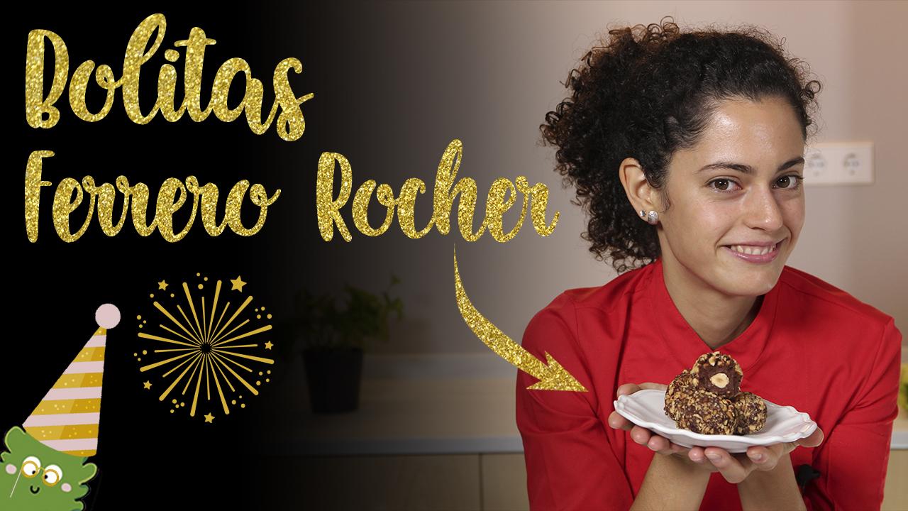 Bolitas tipo Ferrero Rocher